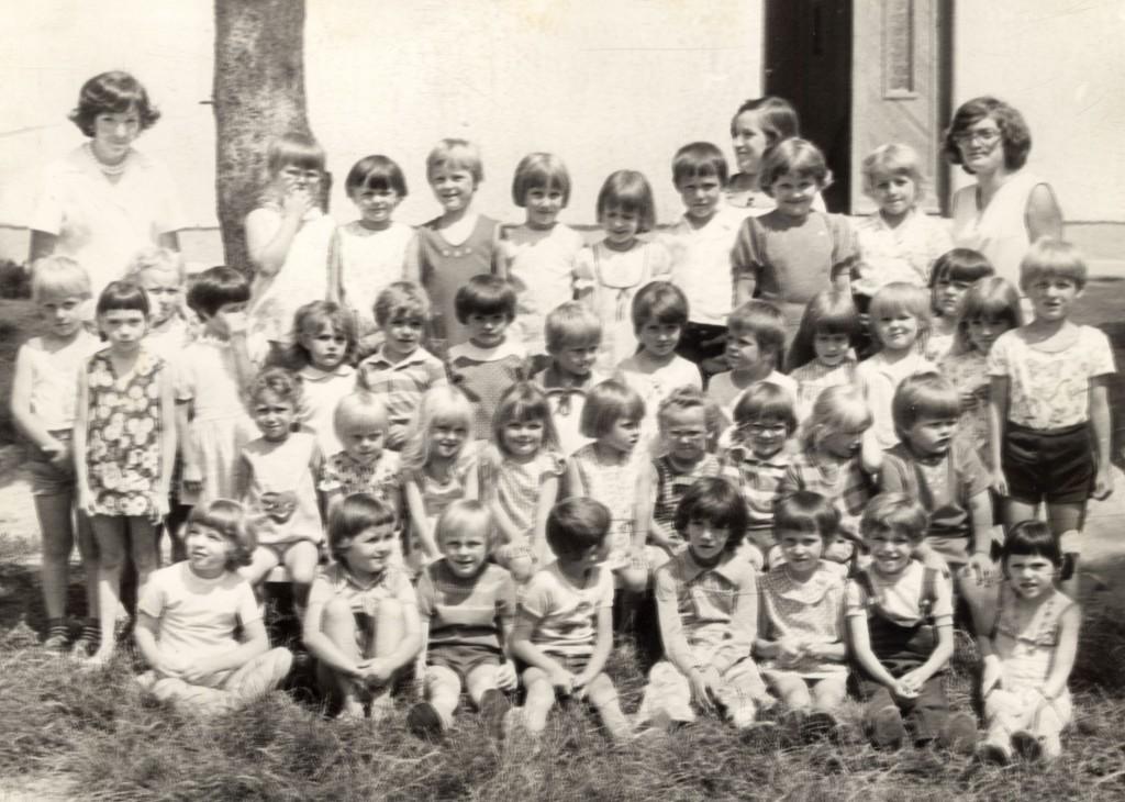 15.Bagod 1977 Óvodai csoport